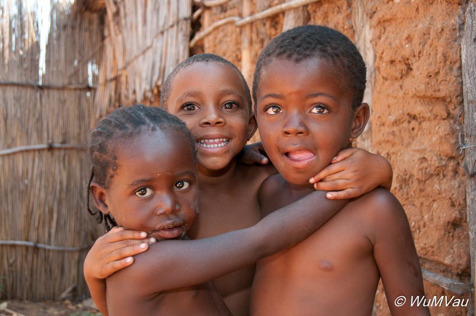 Kinder des Mafwa-Stammes