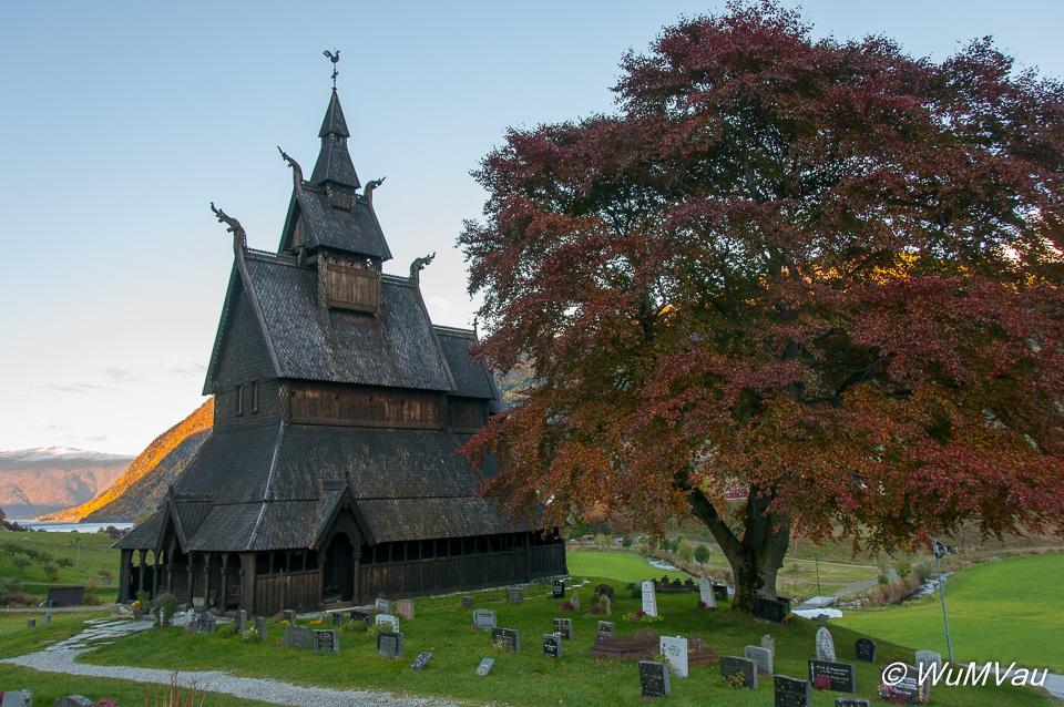 Stabkirche von Hopperstad in Vik
