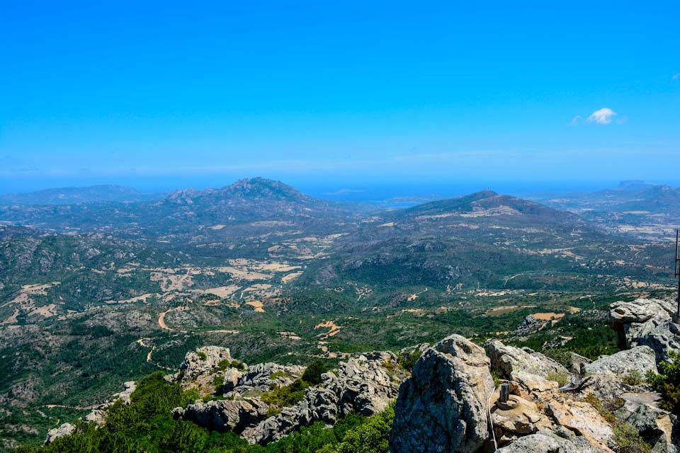Blick vom MontePino nachOsten