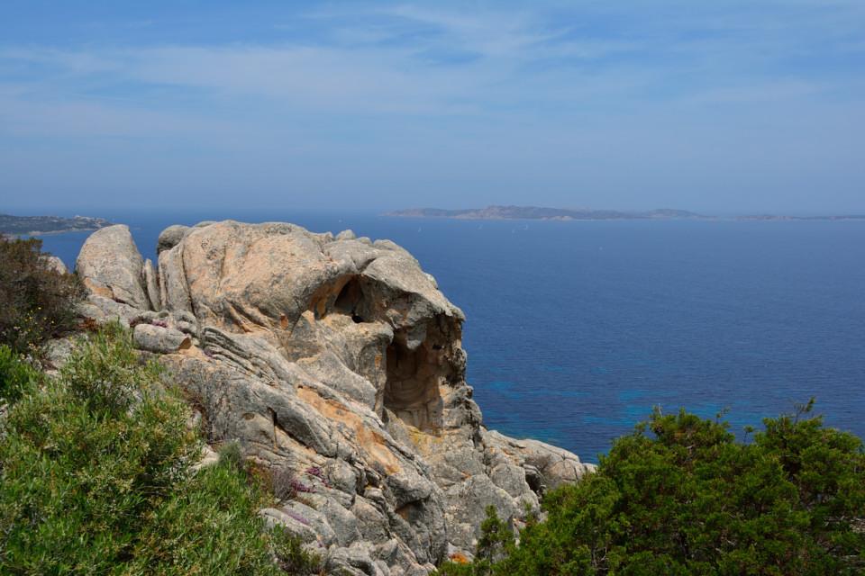 Felsformation auf La Maddalena
