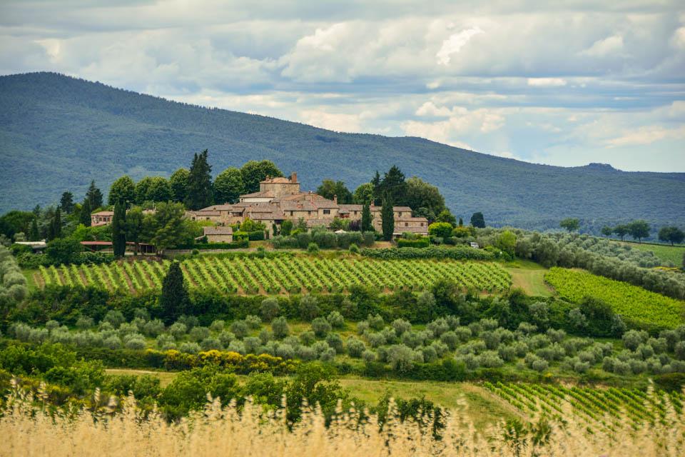 Landsitz in der Toscana
