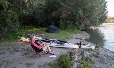 2020 Kajaktour auf der Donau